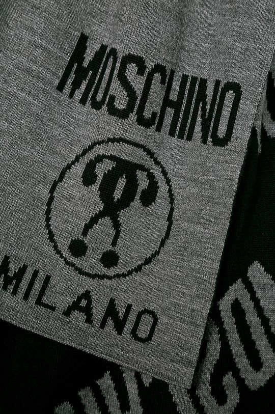 Moschino - Fular gri