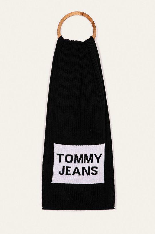 čierna Tommy Jeans - Šál Pánsky