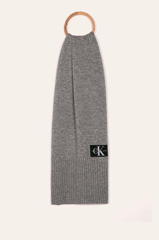 sivá Calvin Klein Jeans - Šál Pánsky