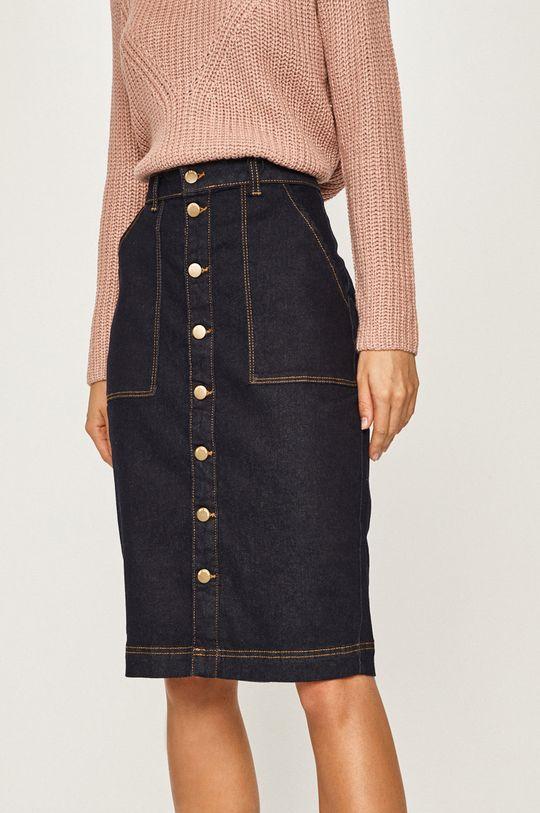 tmavomodrá Jacqueline de Yong - Rifľová sukňa Dámsky