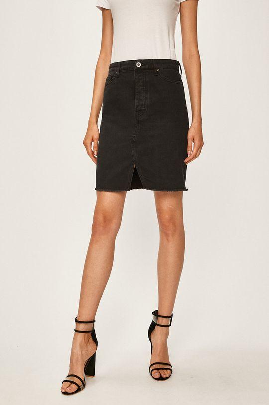 čierna Armani Exchange - Rifľová sukňa Dámsky
