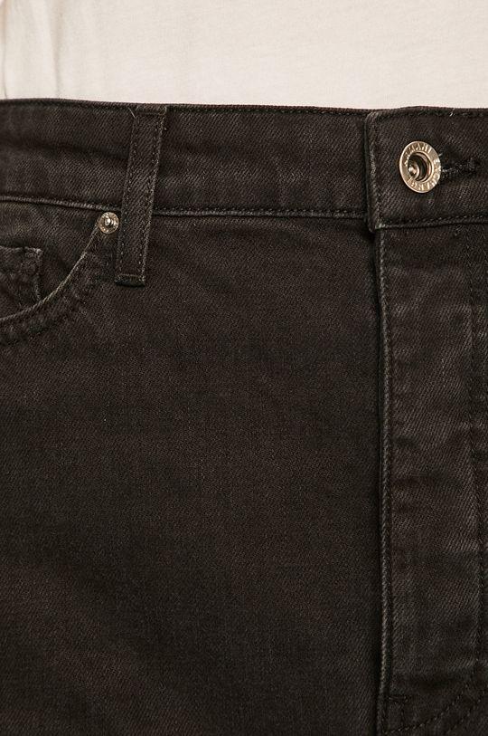 čierna Armani Exchange - Rifľová sukňa