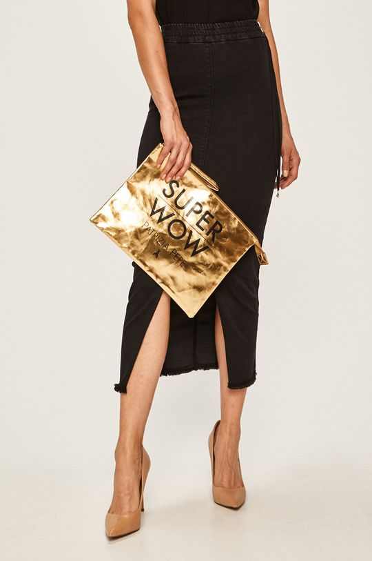 černá Patrizia Pepe - Džínová sukně