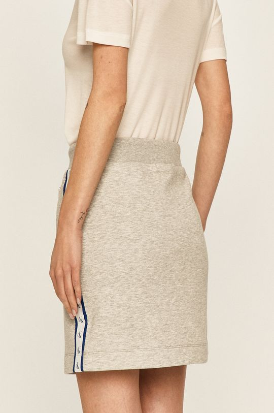 Calvin Klein Jeans - Sukně 63% Bavlna, 37% Polyester