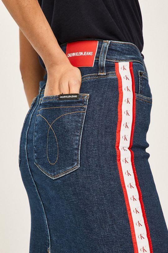 bleumarin Calvin Klein Jeans - Fusta jeans