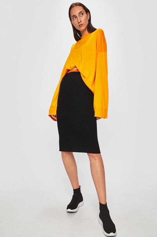 Calvin Klein - Sukně černá