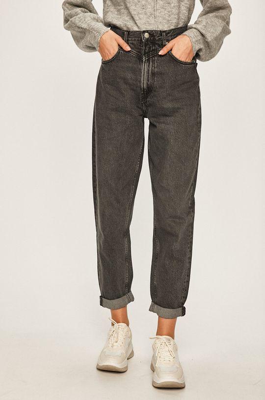 gri Pepe Jeans - Jeansi Rachel Black x Dua Lipa De femei