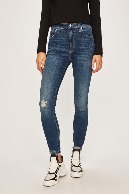 albastru Calvin Klein Jeans - Jeansi De femei
