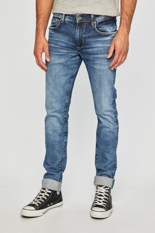 modrá Pepe Jeans - Džíny Pánský
