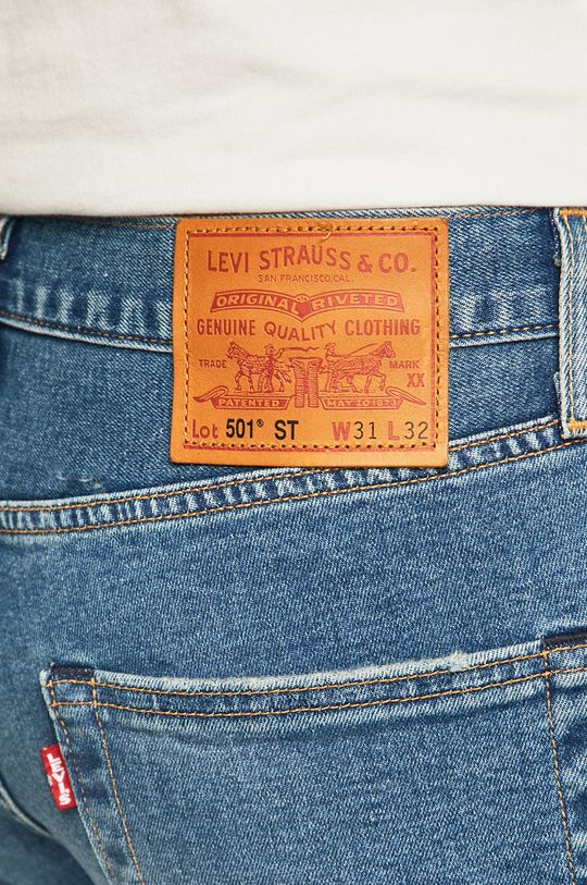 Levi's - Jeansi 501 Slim Taper  94% Bumbac, 1% Elastan, 5% Poliester