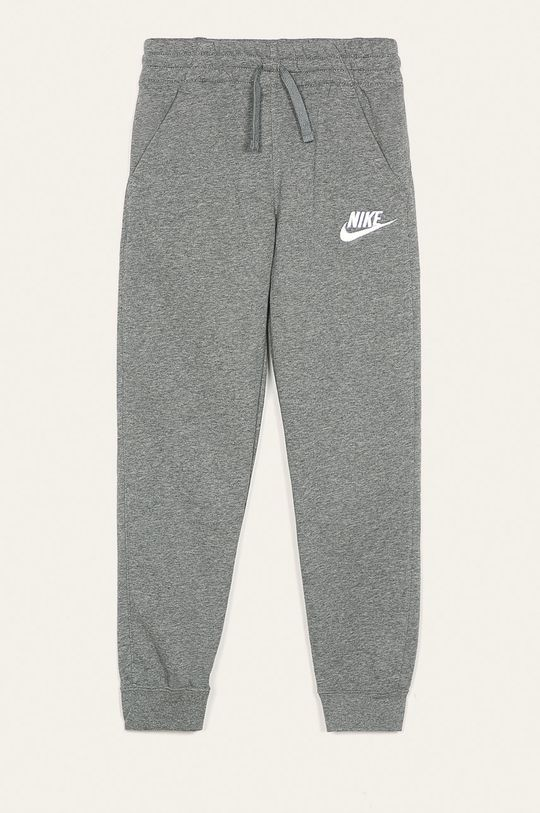 sivá Nike Kids - Detské nohavice 122-170 cm Chlapčenský