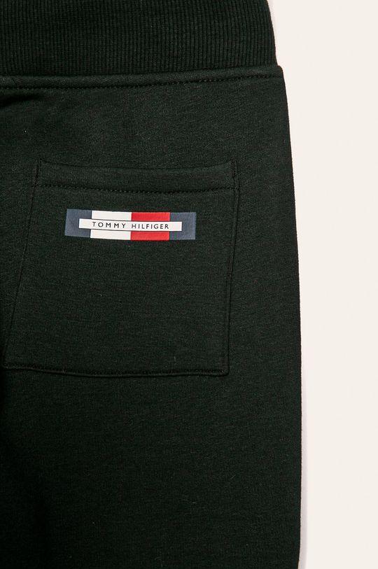 čierna Tommy Hilfiger - Detské nohavice 128-176 cm