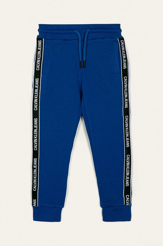 modrá Calvin Klein Jeans - Detské nohavice Chlapčenský