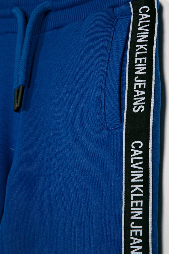 Calvin Klein Jeans - Detské nohavice modrá