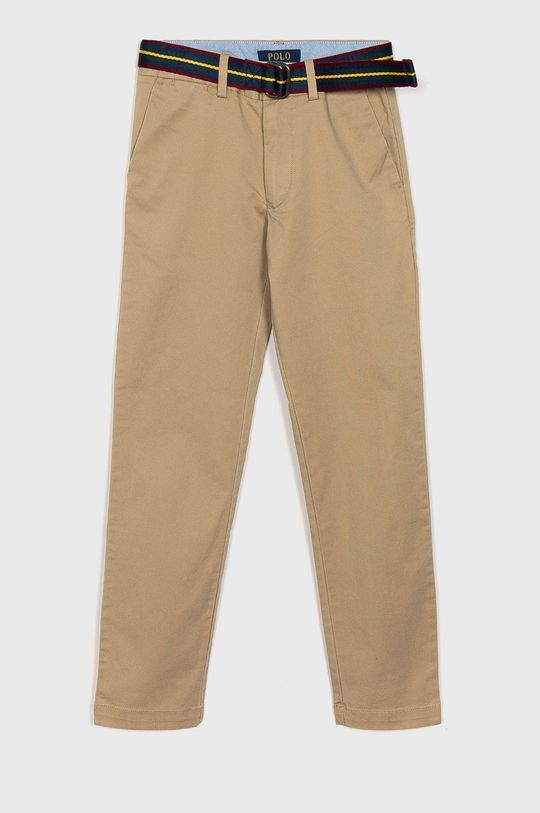 bej Polo Ralph Lauren - Pantaloni copii 134-158 cm De băieți