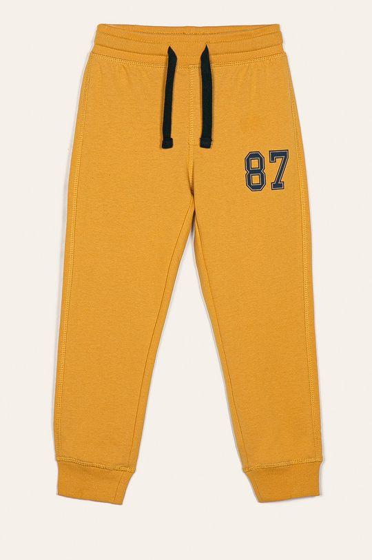 Blukids - Detské nohavice 98-134 cm (2 pak) žltá
