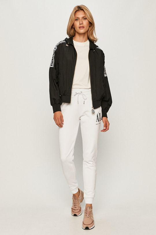 Armani Exchange - Spodnie biały