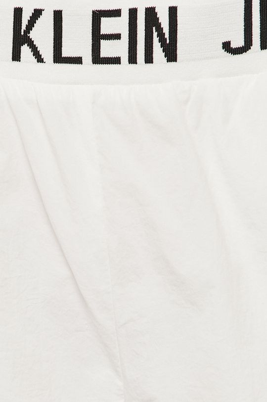 bílá Calvin Klein Jeans - Kalhoty