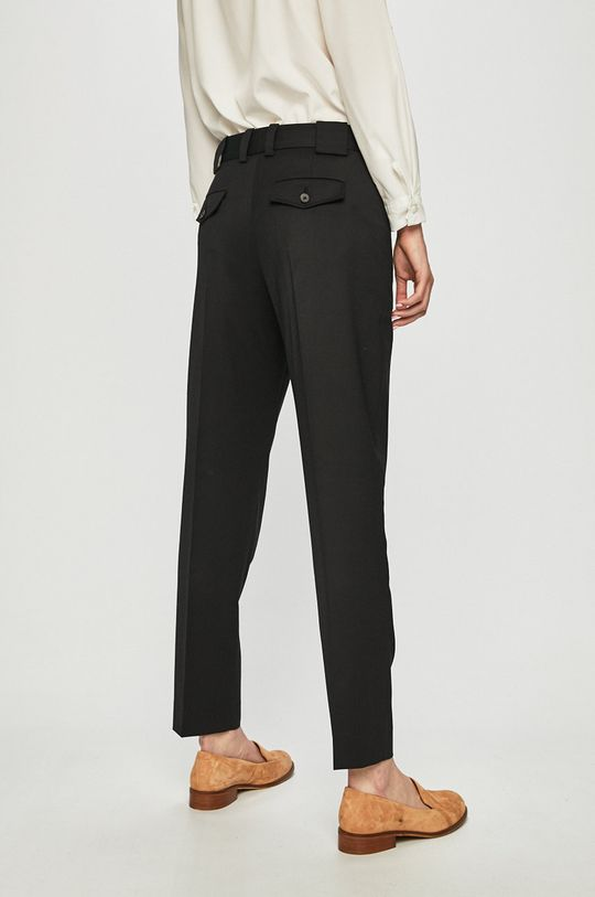 Calvin Klein - Kalhoty  Hlavní materiál: 2% Elastan, 54% Polyester, 44% Vlna Podšívka kapsy: 100% Bavlna