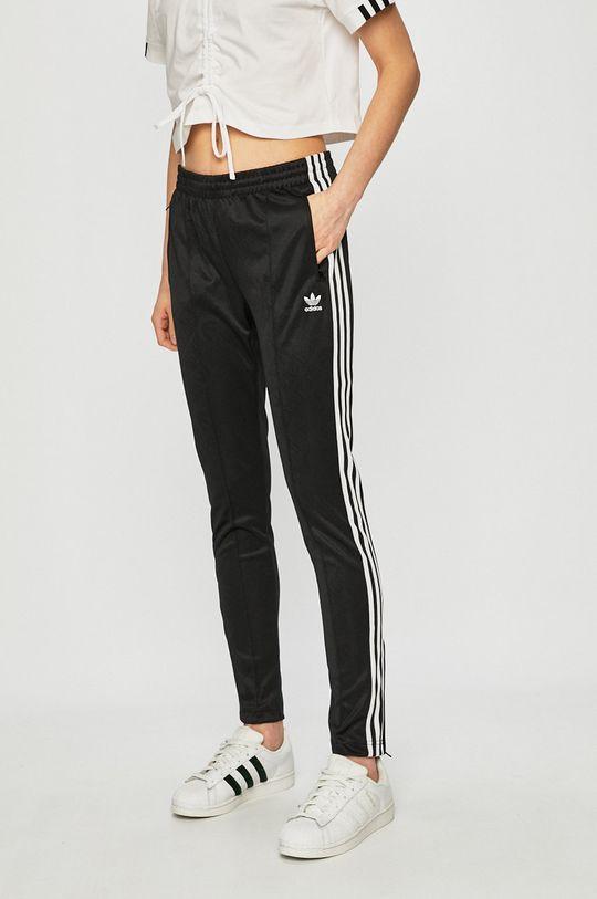 černá adidas Originals - Kalhoty Dámský
