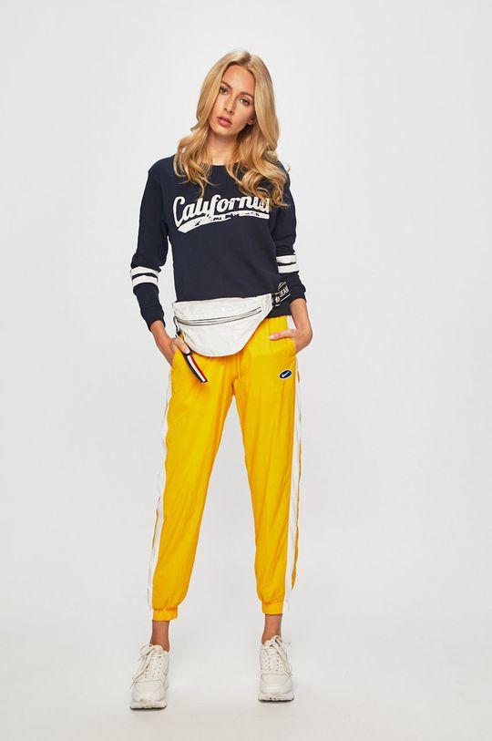 Nike Sportswear - Kalhoty žlutá