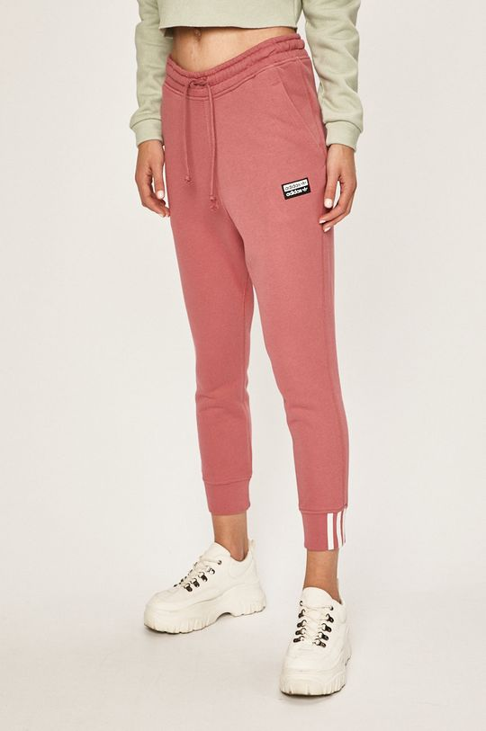 roz violet adidas Originals - Pantaloni De femei