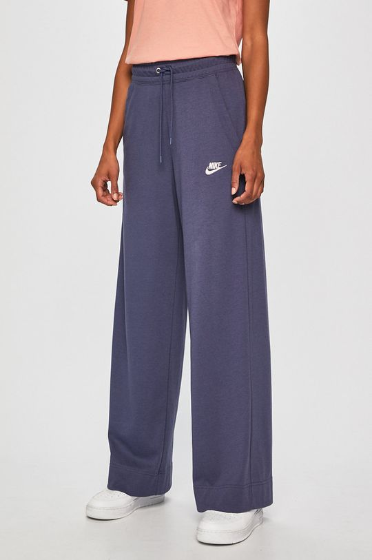 fialová Nike Sportswear - Kalhoty Dámský