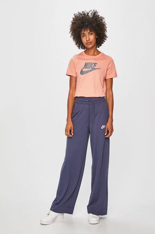 Nike Sportswear - Kalhoty fialová