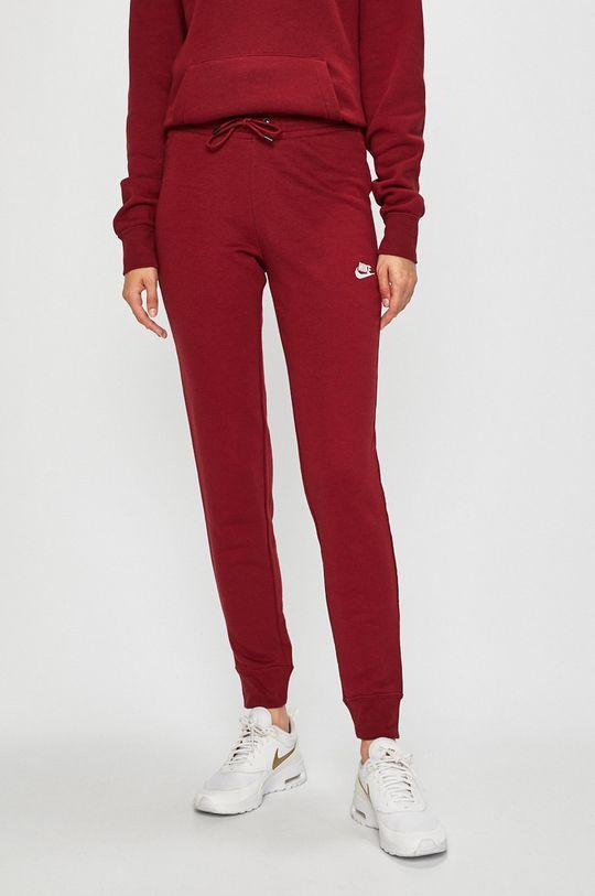červená Nike Sportswear - Kalhoty Dámský