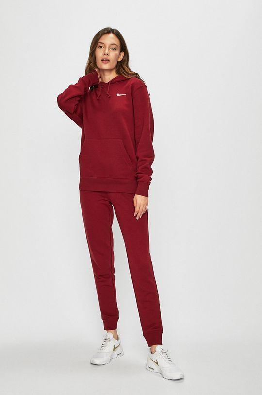 Nike Sportswear - Kalhoty červená