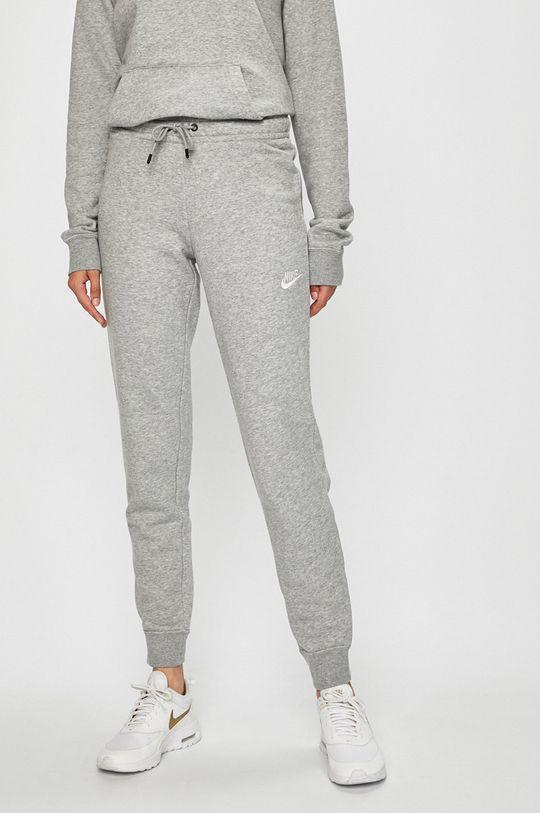 sivá Nike Sportswear - Nohavice Dámsky