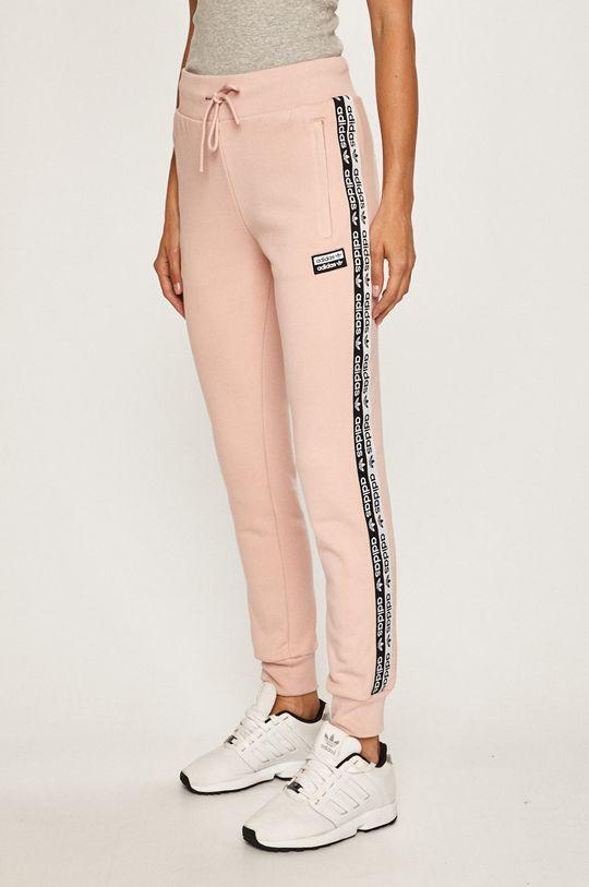 růžová adidas Originals - Kalhoty Dámský