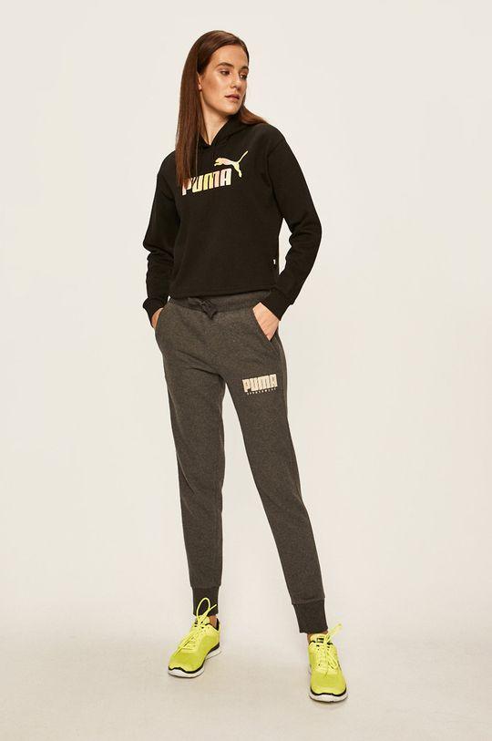Puma - Športové nohavice sivá