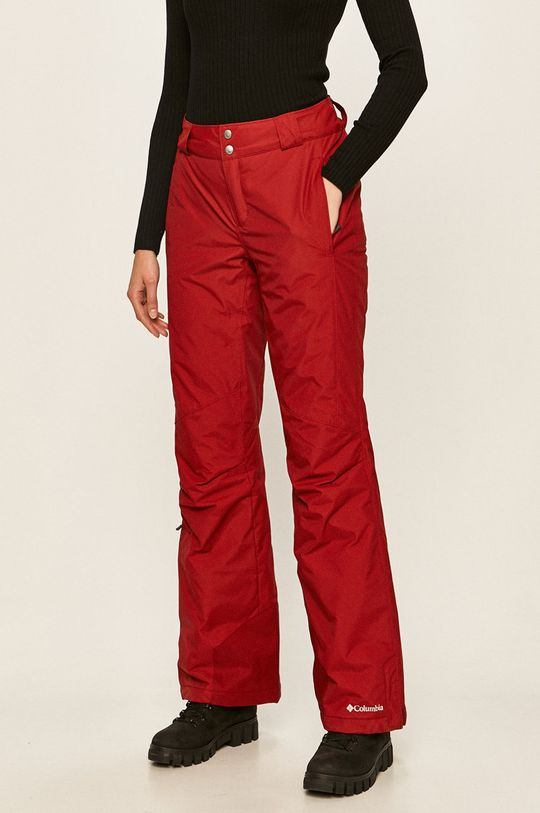czerwony Columbia - Spodnie 1623351 Damski