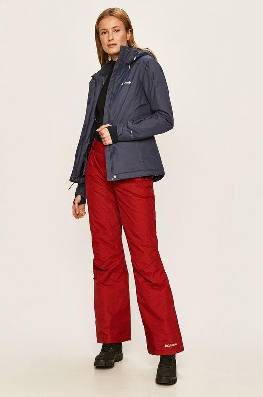 Columbia - Spodnie 1623351 czerwony