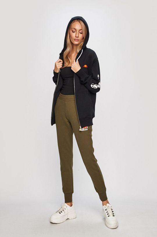 Ellesse - Kalhoty tlumená zelená