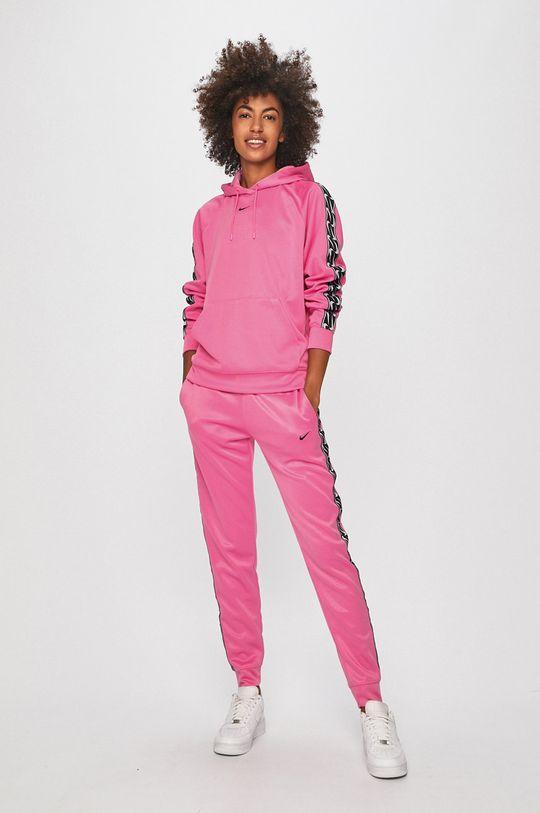 Nike Sportswear - Kalhoty orchidejová