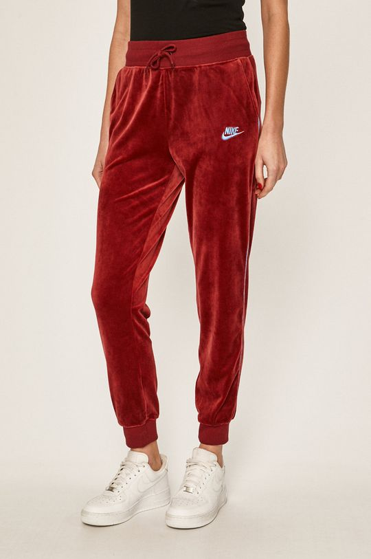 kaštanová Nike Sportswear - Kalhoty Dámský