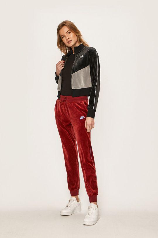 Nike Sportswear - Kalhoty kaštanová