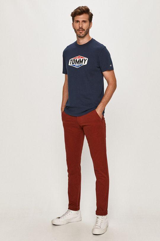 Tommy Jeans - Nohavice DM0DM06518 červená