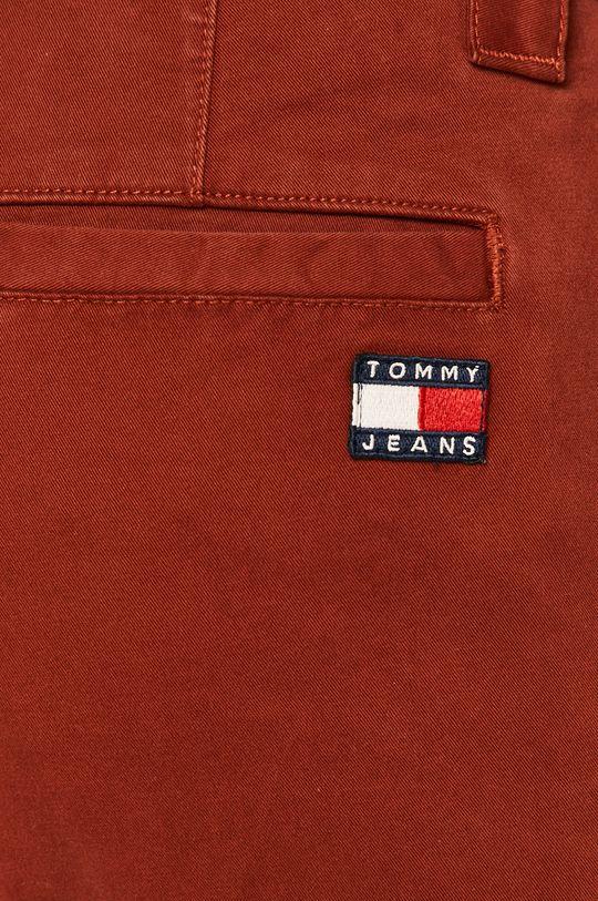 červená Tommy Jeans - Nohavice DM0DM06518