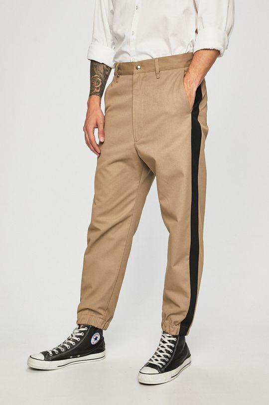 béžová Diesel - Kalhoty Pánský