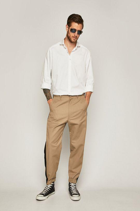 Diesel - Kalhoty béžová