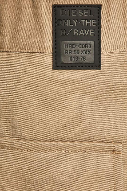 béžová Diesel - Kalhoty