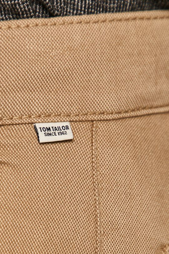 béžová Tom Tailor Denim - Kalhoty