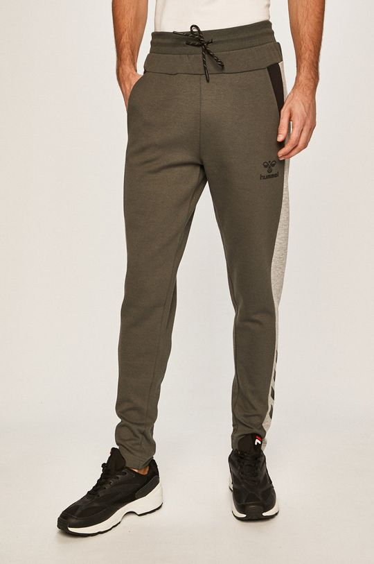 verde Hummel - Pantaloni De bărbați
