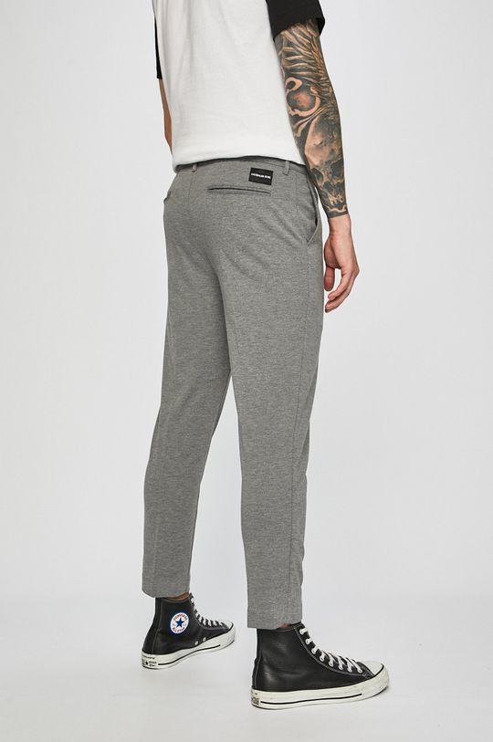 Calvin Klein Jeans - Kalhoty 4% Elastan, 77% Polyester, 19% Viskóza