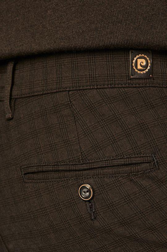 tmavě hnědá Pierre Cardin - Kalhoty