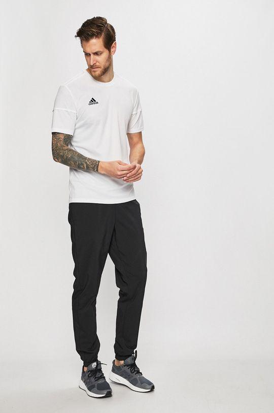 adidas Performance - Kalhoty Podšívka: 100% Recyklovaný polyester Hlavní materiál: 43% Recyklovaný polyester, 57% Polyester