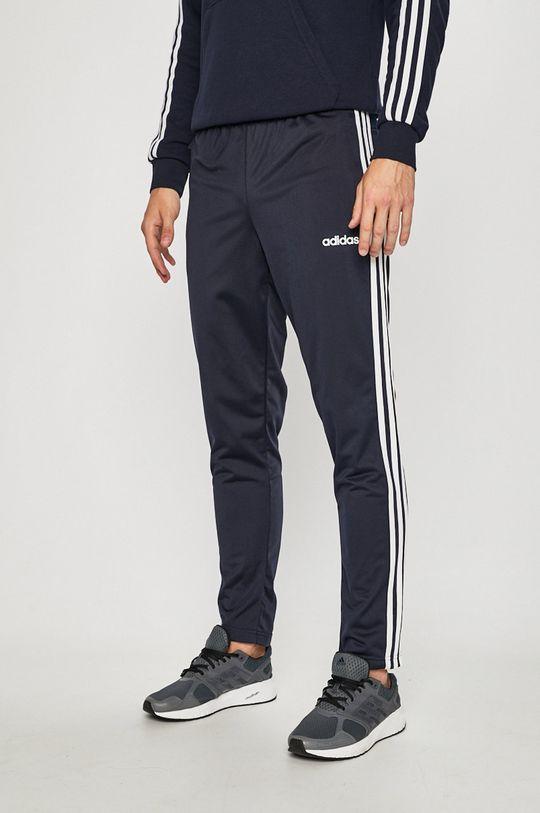 námořnická modř adidas Performance - Kalhoty Pánský